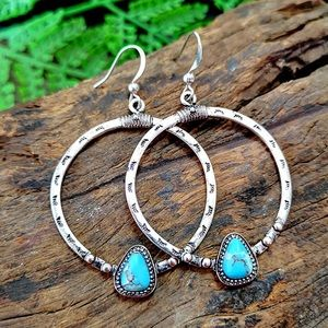 Jewelry - NEW! 925 silver hoops